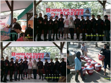 """Closing Acara """"Honda Fun Touring with JatimOtoBlog"""""""