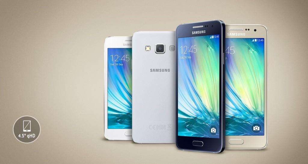 """Apa saja kelebihan """"Samsung Galaxy A3″ HH hanya berlayar 4,5"""", namun harganya segitu ??"""