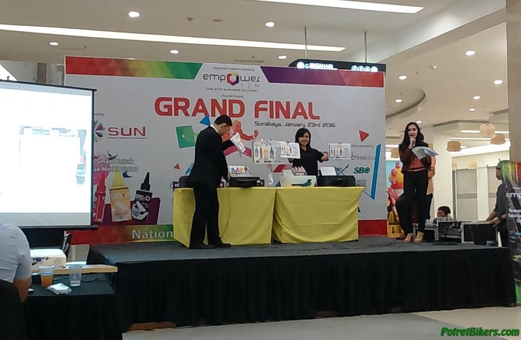 SUN REVO Ink Launching at Surabaya, Tinta Printer untuk segala merk..!!