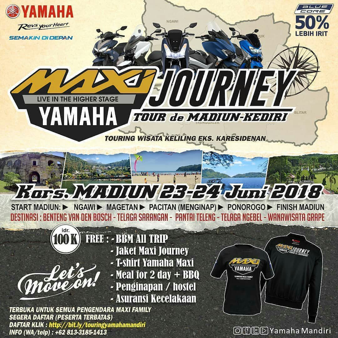 Maxi Journey, untuk area Plat AG – AE !! Goyangkan stangmu kawan !!