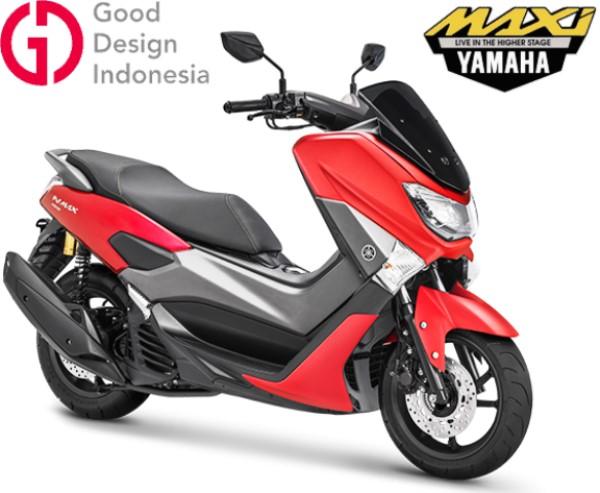 Warna terbaru Yamaha NMAX MATTE RED 2019 | OtoBeken